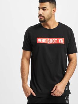 Who Shot Ya? T-Shirty Fresh W czarny