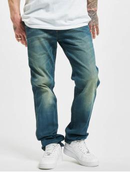 Wrangler Straight Fit Jeans Broke Down blå