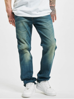 Wrangler Straight Fit Jeans Broke Down blue