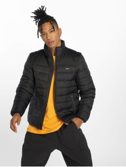 Wrung Division Puffer Jacket Division Lamont schwarz