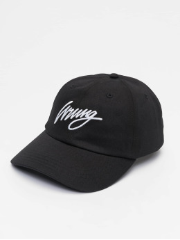 Wrung Division Snapback Cap Sign Logo schwarz