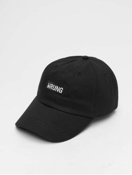 Wrung Division Snapback Caps Box čern