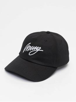 Wrung Division Snapback Caps Sign Logo musta