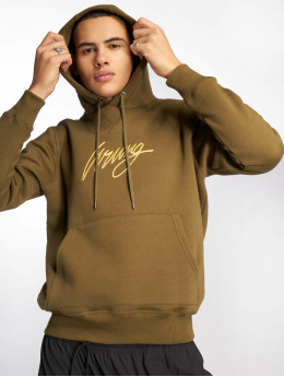 Wrung Division Sweat capuche Sign  kaki