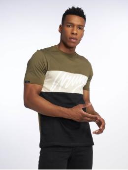 Wrung Division T-Shirt Flow kaki