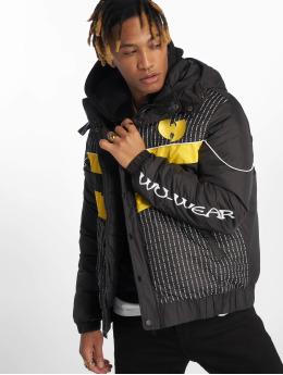 Wu-Tang Стеганая куртка Puffer черный