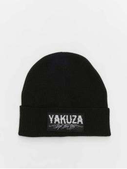 Yakuza Čepice Claim Knit čern