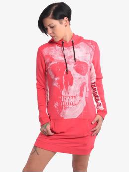 Yakuza Šaty Skull Two Face pink
