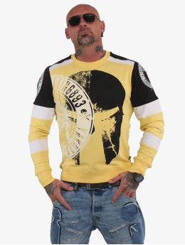 Yakuza Пуловер Spartan Two Face желтый