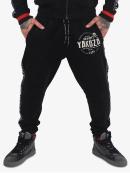 Yakuza Спортивные брюки Bad Side черный