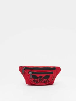 Yakuza Bag Fyling Skull red