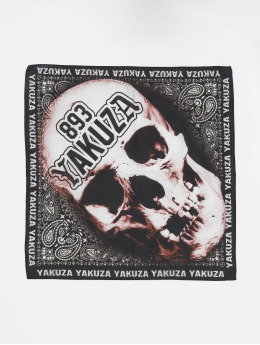 Yakuza Bandany/Durags Muerte czarny