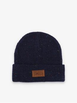 Yakuza Beanie Tab Knit blue