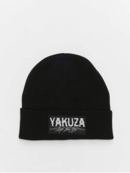 Yakuza Beanie Claim Knit zwart