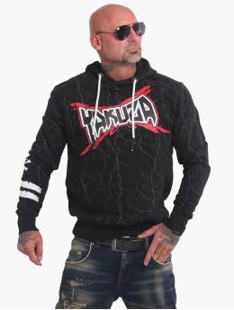 Yakuza Bluzy z kapturem Toxin  czarny
