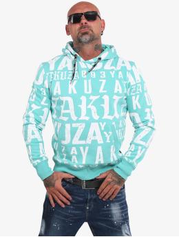 Yakuza Bluzy z kapturem Branding  niebieski