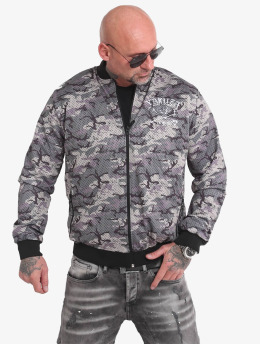 Yakuza Bomberjacke Muerte Mesh camouflage