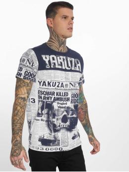 Yakuza Camiseta Escobar azul