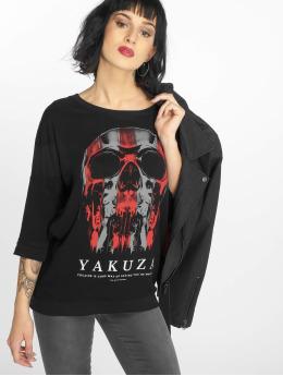 Yakuza Camiseta de manga larga Imperator negro