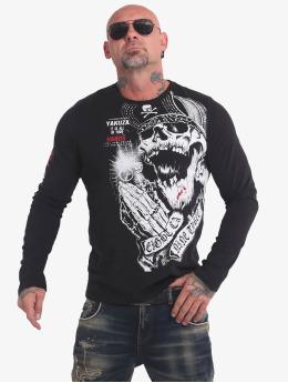 Yakuza Camiseta de manga larga Carnal  negro