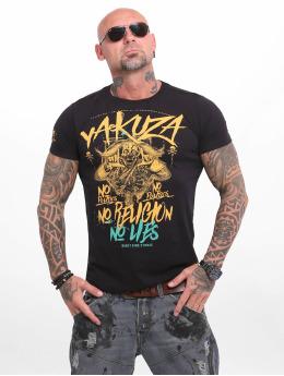 Yakuza Camiseta  No No No  negro