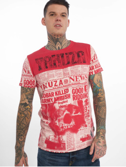Yakuza Camiseta Escobar rojo