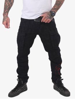 Yakuza Cargo pants Branding Grip black
