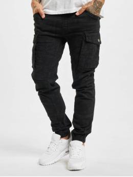 Yakuza Cargo pants Allover Jogging black