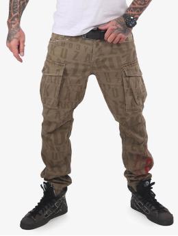 Yakuza Cargo pants Branding Grip khaki