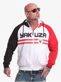 Yakuza Chaqueta de entretiempo Two Step blanco
