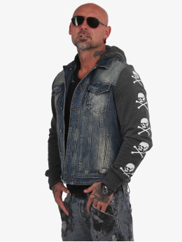 Yakuza Denim Jacket Protect Denim blue