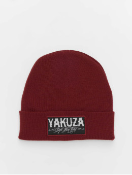 Yakuza Hat-1 Claim Knit red