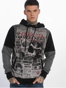 Yakuza Hoodies Escobar Two Face čern