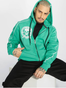 Yakuza Hoodies con zip Jolly Zip turchese