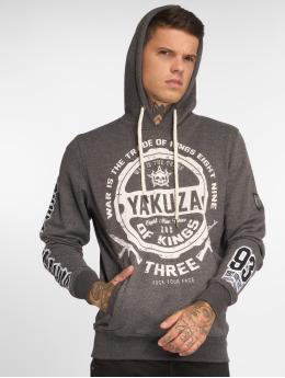 Yakuza Hoodies Trade Of Kings grå