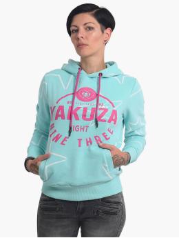 Yakuza Hoodies 893Starlet Cropped modrý