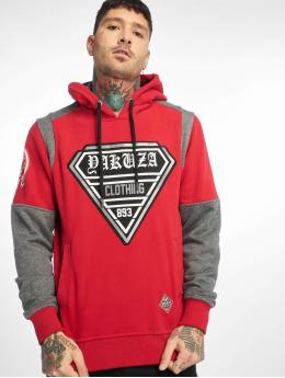 Yakuza Hoodies Label Two Face rød