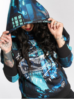 Yakuza Hoody Painful Truth Mesh schwarz