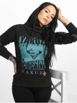 Yakuza Hoody Cocaine Two Face schwarz