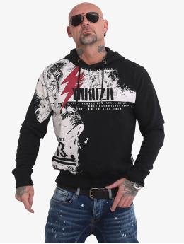 Yakuza Hoody Crucified  zwart