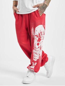 Yakuza Joggebukser Clown Loose red