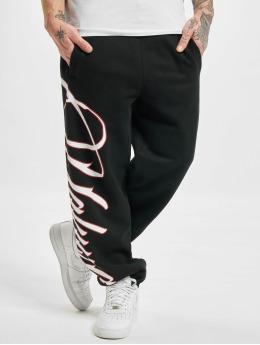 Yakuza Jogging kalhoty Lettering  čern