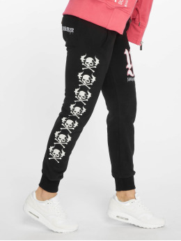 Yakuza Jogging Lil Flying Skull noir