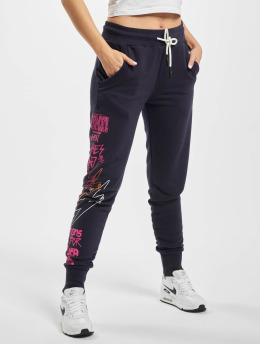 Yakuza joggingbroek Revival  blauw
