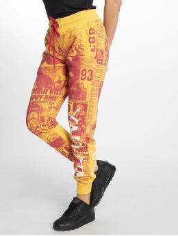 Yakuza joggingbroek Escobar Sweat geel