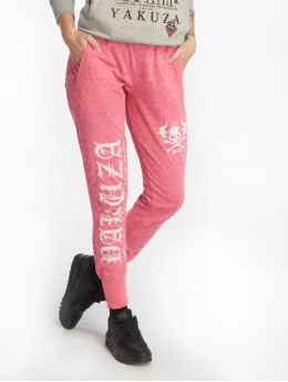 Yakuza joggingbroek Daily Use Skinny rose