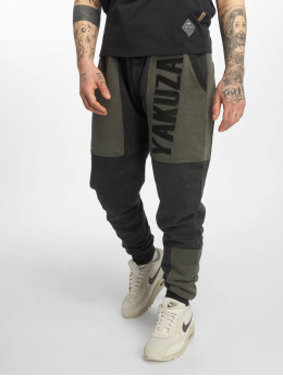 Yakuza joggingbroek Imperator Two Face zwart