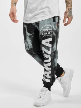 Yakuza joggingbroek Muerte Skull zwart