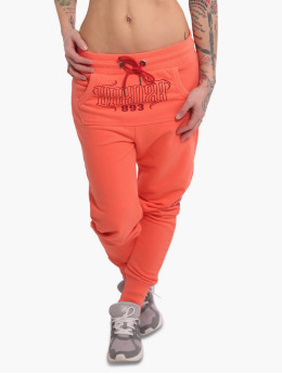 Yakuza Joggingbukser Dropping Skull Pouch orange