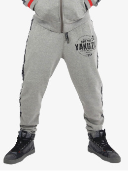 Yakuza Joggingbyxor Bad Side grå